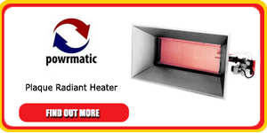 powrmatic radiant heater