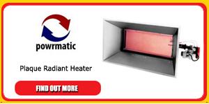 powrmatic radiant heater